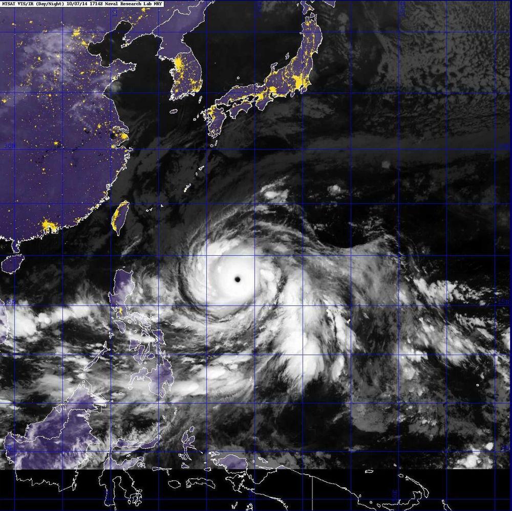 台風19号が905hPa…マジでシャレにならない模様