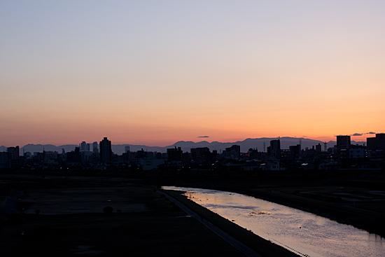 川の風景-5