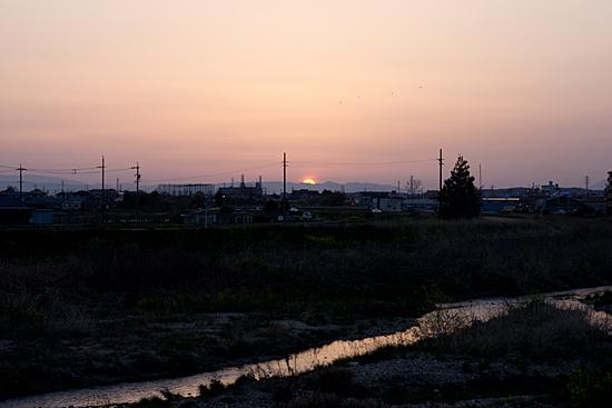 川の風景-8