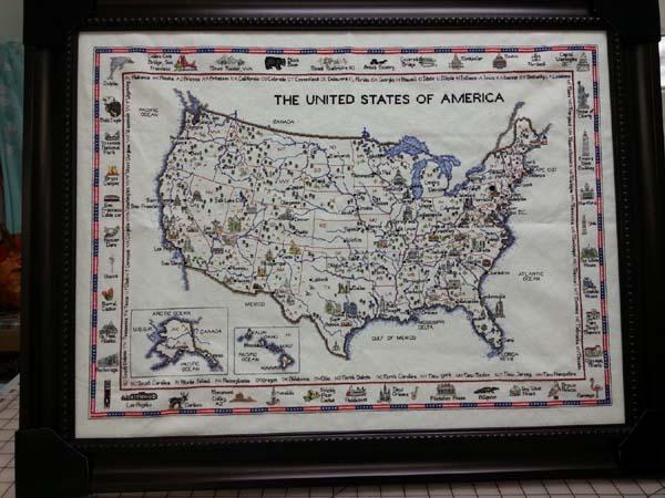 アメリカ地図
