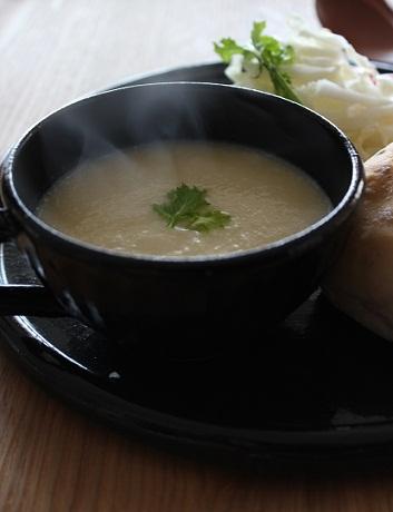 かぶと白菜のポタージュ1