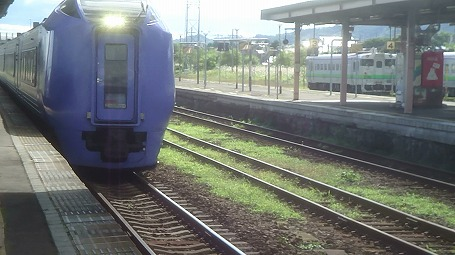 s-スーパー北斗@長万部駅