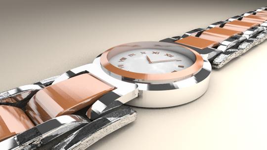 Blenderで時計