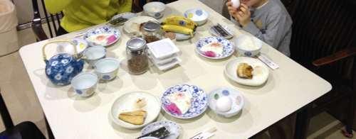 山本旅館の朝食