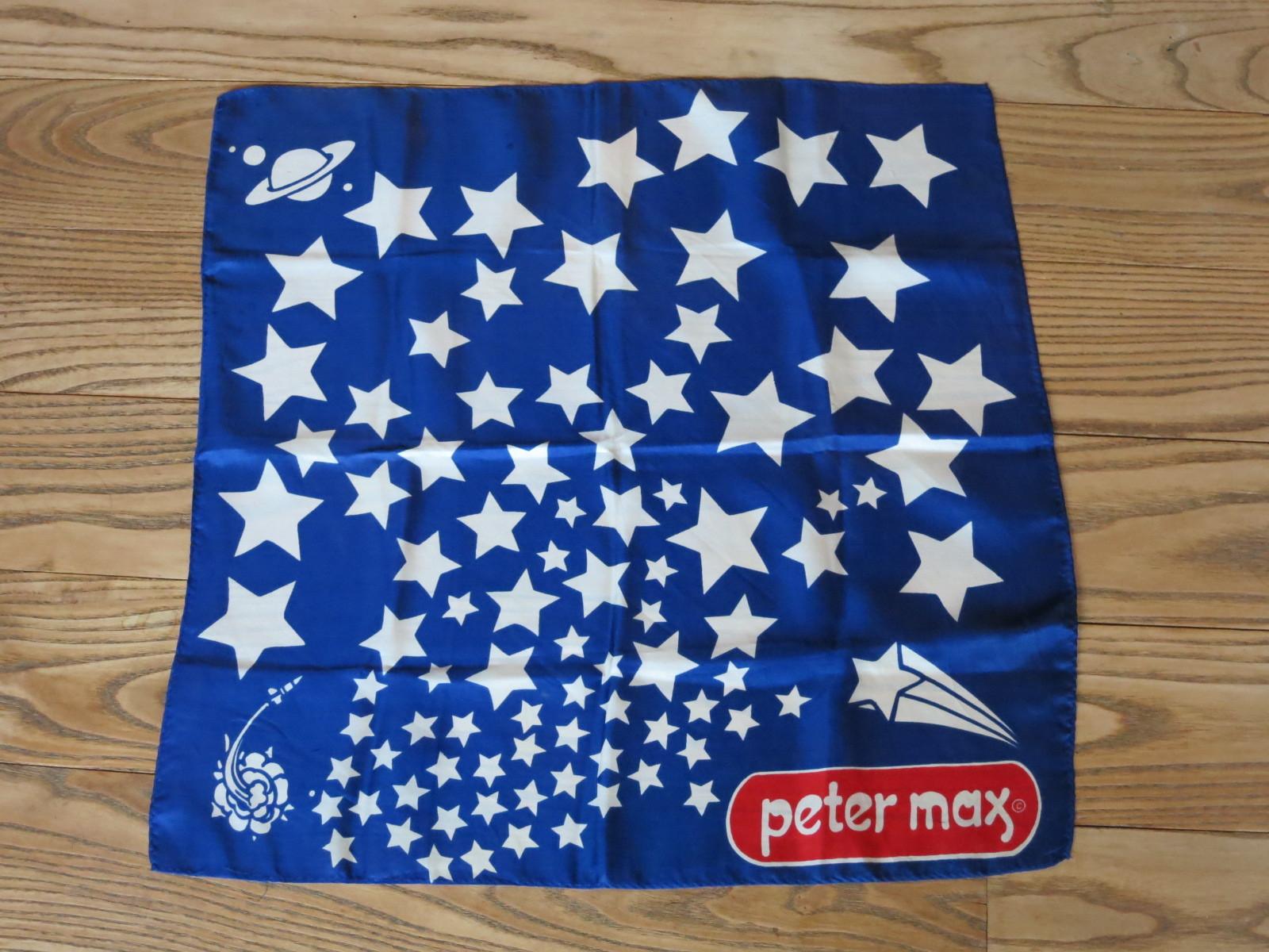 1801 アメリカ買い付け ピーターマックス シルクスカーフ
