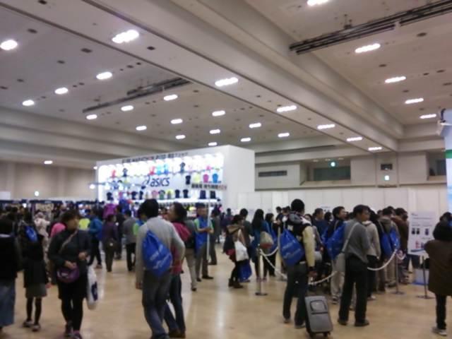 神戸マラソン受付~科学館デート