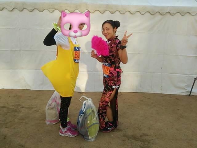 【速報】神戸マラソン仮装ラン完走したよー!