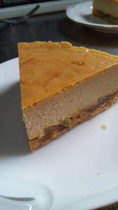 キャラメルりんごのチーズケーキ(レシピ)