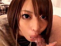 加藤はるき フェラ顔がエロエロな超絶美少女が四つんばいフェラ抜き!