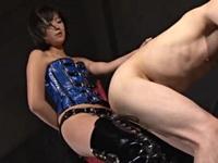 ボンデージアイドル女王様のぺ二バン逆アナル調教