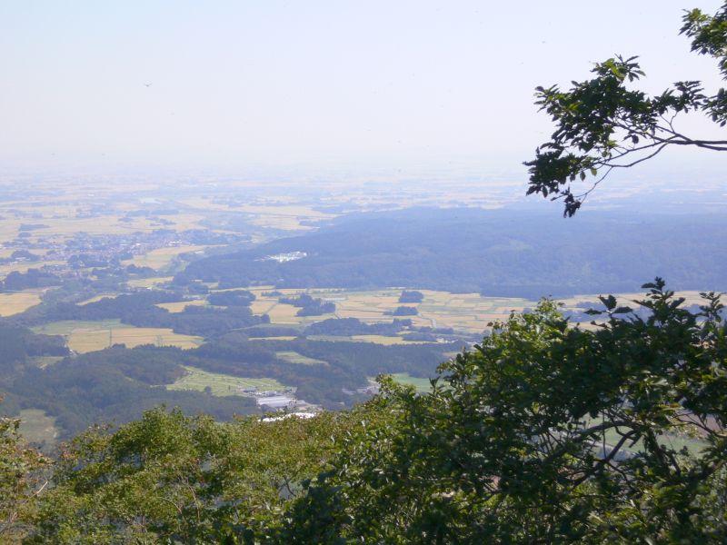 山頂から望む大崎平野