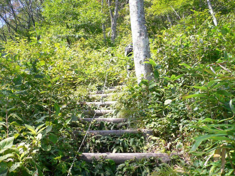 連続した階段