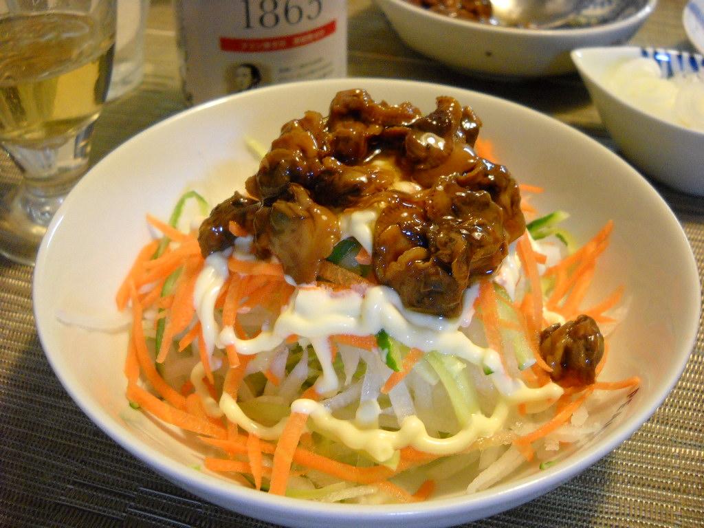 赤貝サラダ