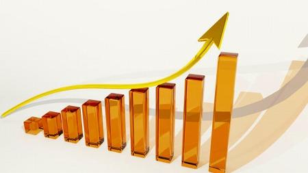 投資戦略,成長, 金融, 利益, 配当金, 上向き, 投資