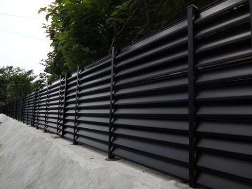M山邸外構リフォーム~フェンス組立て 完了