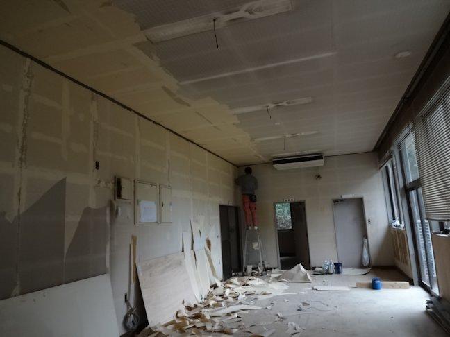 某施設改修工事~内装工事