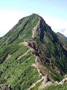 赤岳8.28日の岳より