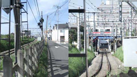 やまざき鉄道ひろば雑記帳 西武新宿線ウォーク((脇田信号場)=>(川越))